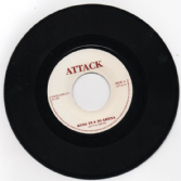 Johnny Clarke - King In A Di Arena / version (Attack) UK 7""